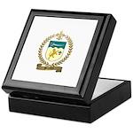 BOURDON Family Crest Keepsake Box