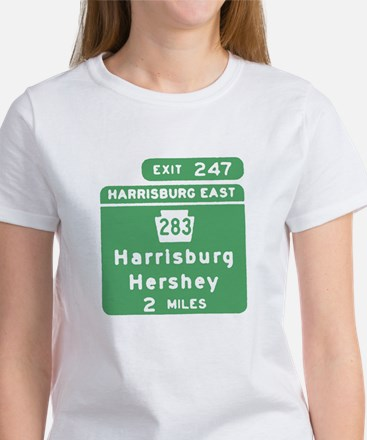 Harrisburg Hershey Chocolate Women's T-Shirt