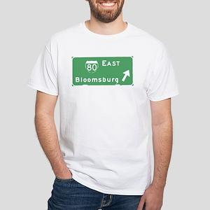 Bloomsburg PA T-shirts White T-Shirt