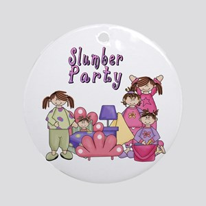 Slumber Party Ornament (Round)