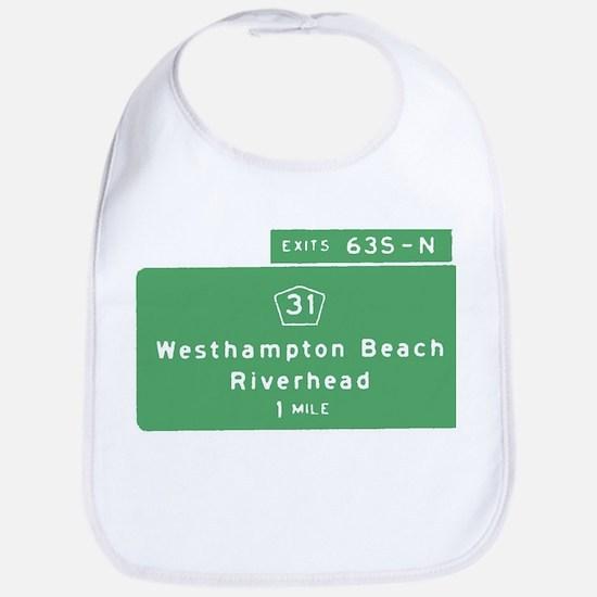 Westhampton Beach Exit T-shir Bib