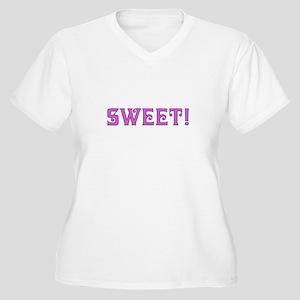 Sweet! Women's Plus Size V-Neck T-Shirt
