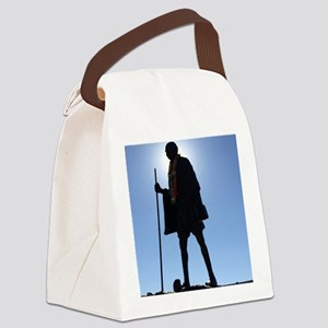 Gandhi Canvas Lunch Bag