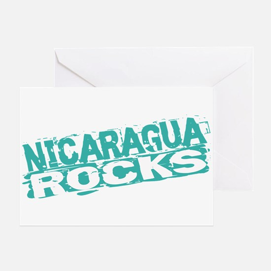 Nicaragua Rocks Greeting Card
