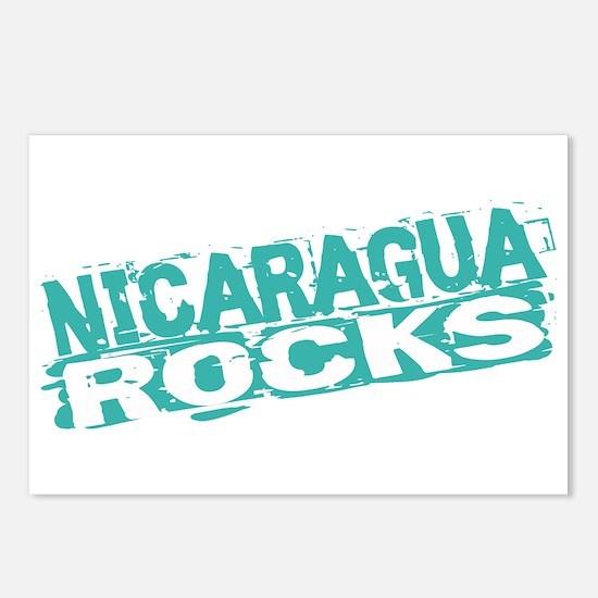 Nicaragua Rocks Postcards (Package of 8)