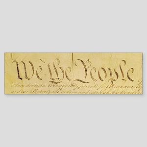 We the People II Bumper Sticker