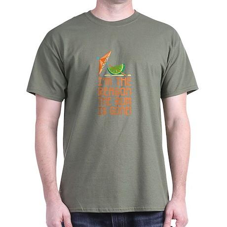 Rum Gone - Dark T-Shirt