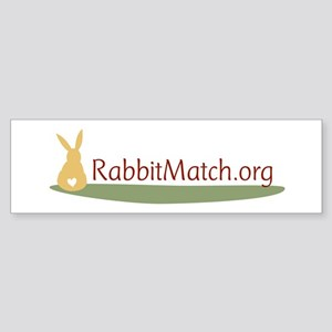 RabbitMatch.org Bumper Sticker