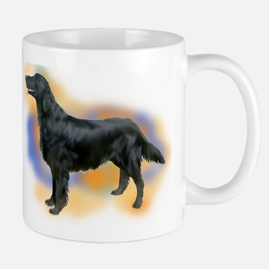 flatcoat portrait Mug