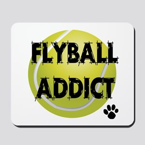 Flyball Addict Mousepad