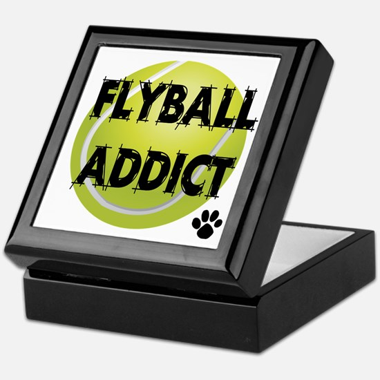 Flyball Addict Keepsake Box
