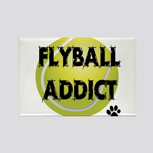 Flyball Addict Rectangle Magnet