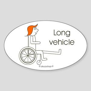Sticker long vehicle