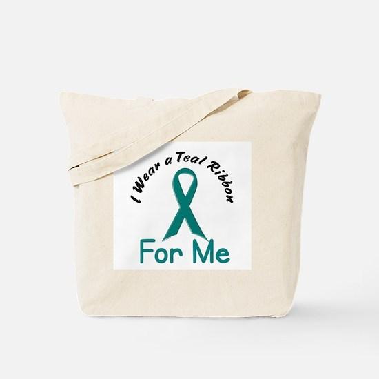 Teal Ribbon For ME 4 Tote Bag