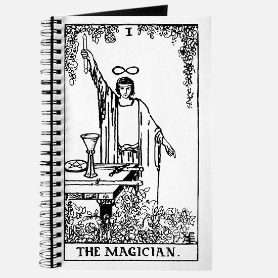 The Magician Rider-Waite Tarot Card Journal