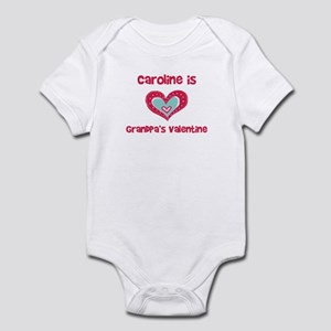 Caroline Is Grandpa's Valenti Infant Bodysuit