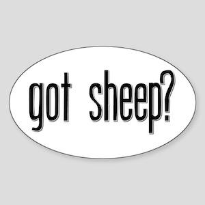 Got Sheep? Oval Sticker