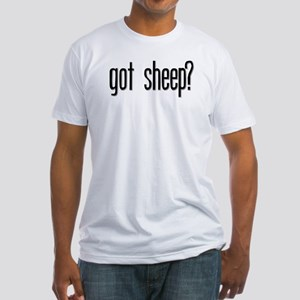 Got Sheep? Fitted T-Shirt