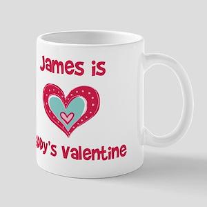 James Is Daddy's Valentine Mug
