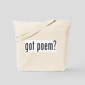 got poem? Tote Bag