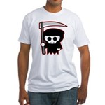 Grim Reaper Fitted T-Shirt