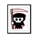 Grim Reaper Framed Panel Print