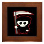 Grim Reaper Framed Tile