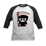 Grim Reaper Kids Baseball Jersey