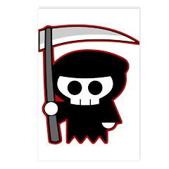 Grim Reaper Postcards (Package of 8)