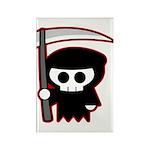 Grim Reaper Rectangle Magnet
