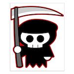 Grim Reaper Small Poster