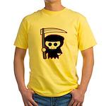 Grim Reaper Yellow T-Shirt