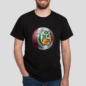 Peru Futbol Dark T-Shirt