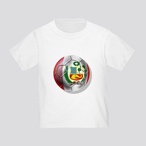 Peru Futbol Toddler T-Shirt