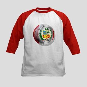 Peru Futbol Kids Baseball Jersey