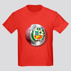 Peru Futbol Kids Dark T-Shirt