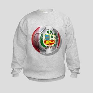Peru Futbol Kids Sweatshirt