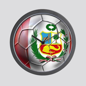Peru Futbol Wall Clock