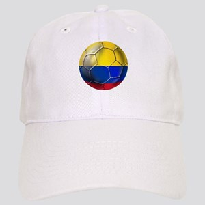 Colombia Soccer Hats - CafePress adc071d26b8