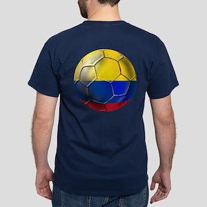 Colombian Soccer Futbol Dark T-Shirt
