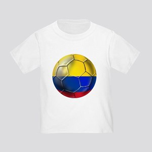 Colombian Soccer Futbol Toddler T-Shirt
