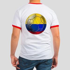 Colombian Soccer Futbol Ringer T