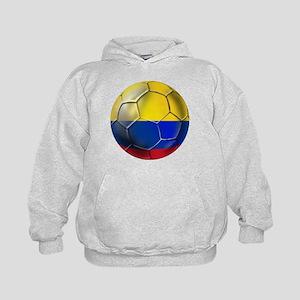 Colombian Soccer Futbol Kids Hoodie