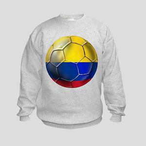 Colombian Soccer Futbol Kids Sweatshirt