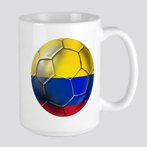 Colombian Soccer Futbol Large Mug