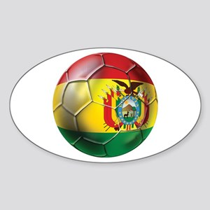 Bolivia Futbol Sticker (Oval)