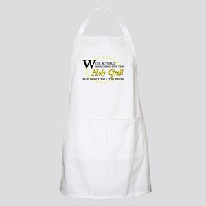Searching for Holy Grail BBQ Apron