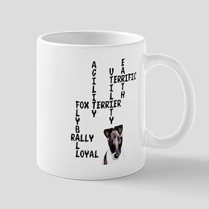 fox terrier crossword Mug
