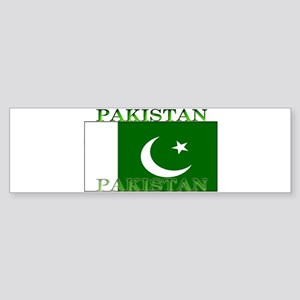 Pakistan Pakistani Flag Bumper Sticker