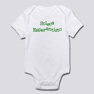Lonely Esperantist Infant Bodysuit